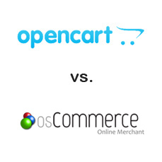 osCommerce vs OpenCart