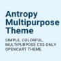 Our New Antropy Multipurpose Theme