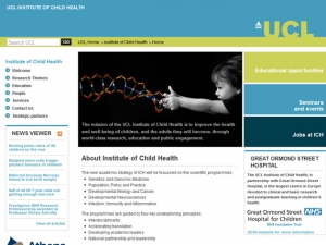 UCL Institute of Child Health